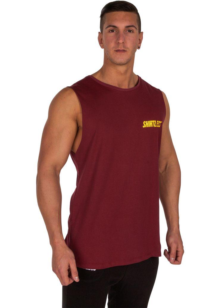 Shirtless Lifestyle Tank from Shirtless Apparel   Performance Apparel