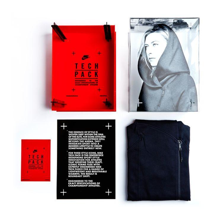 Nike TechPack Influencer Packaging | Shoe box design. Packaging. Box packaging design