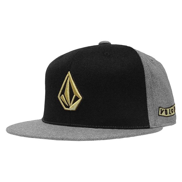 Volcom Too Stone casquette Flexfit 210 premium fitted cap charcoal heather 30€ #casquette #casquettes #cap #caps #hat #hats #flexfit #Volcom #volcomstone #skateshop