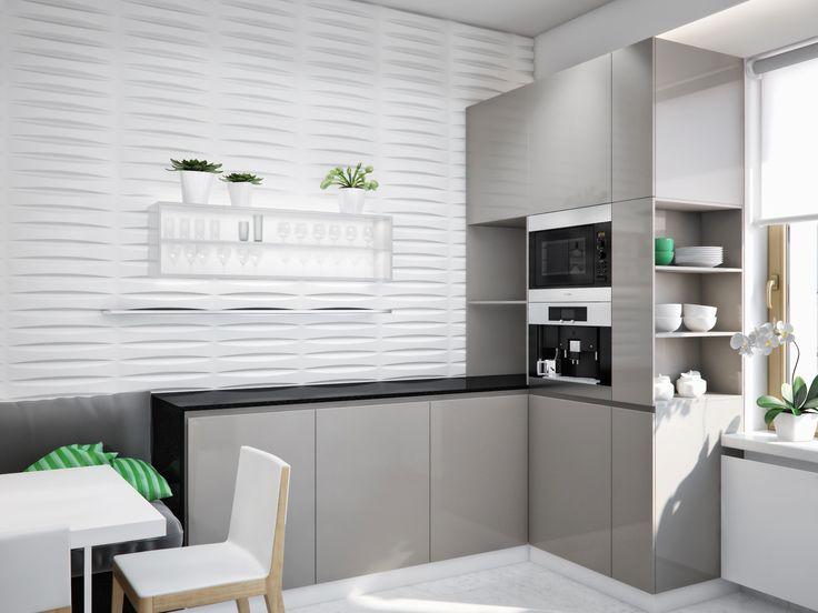 Modern White And Gray Kitchen 27 best modern kitchens images on pinterest | modern kitchens