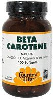 Country Life Beta Carotene, 100-Count *** See this great product.