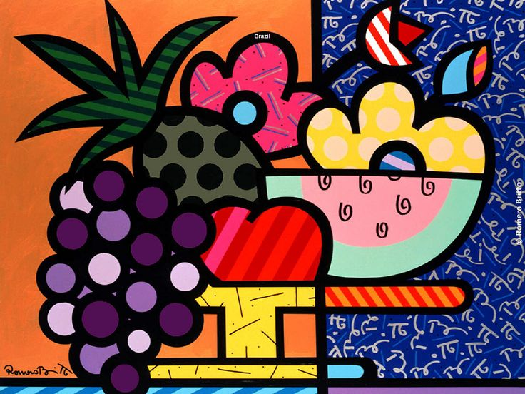 Romero Britto - One of my favorite contemporary artists