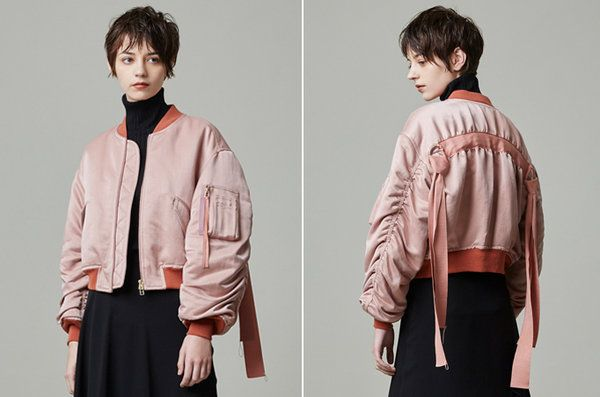 【ELLE SHOP】 まわりと差の付くアイキャッチなデザインブルゾン【いま、人気です】|ファッション通販 エル・ショップ