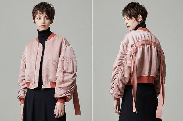 【ELLE SHOP】 まわりと差の付くアイキャッチなデザインブルゾン【いま、人気です】 ファッション通販 エル・ショップ