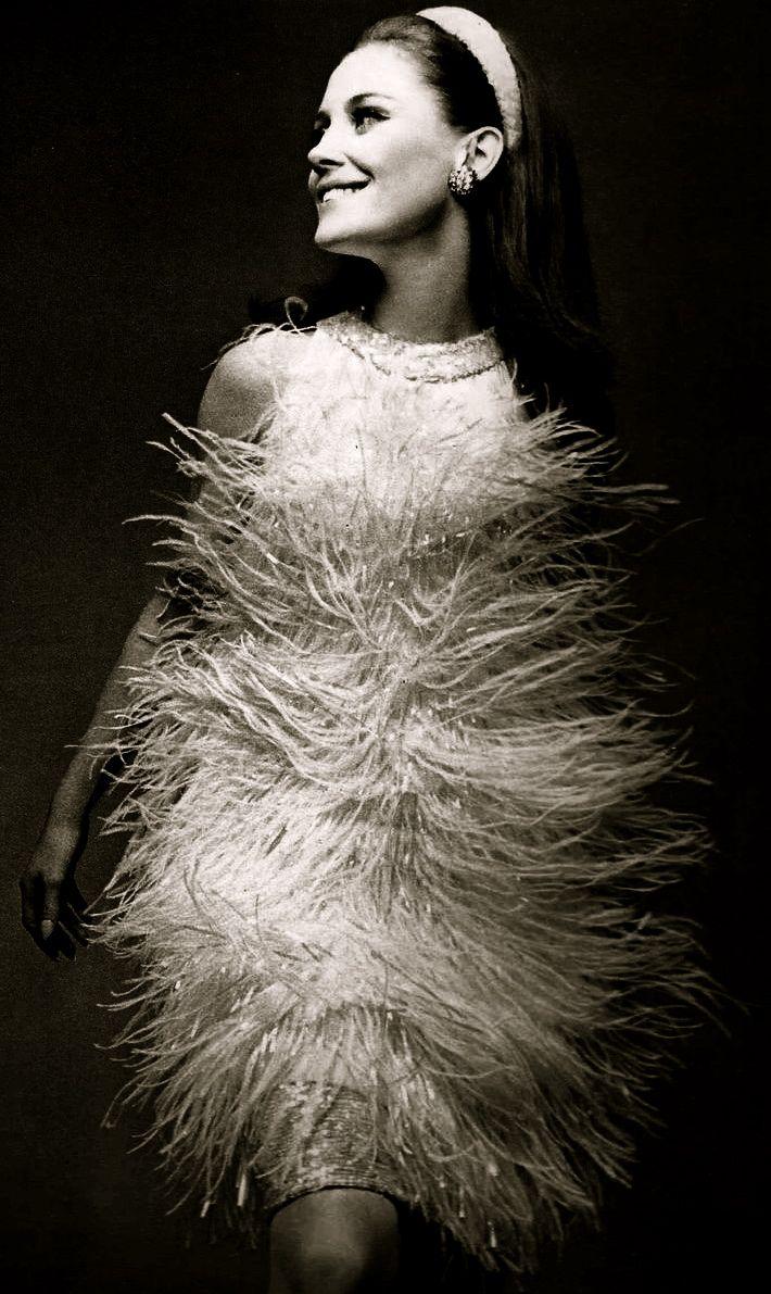 """the60sbazaar: """"1960s Guy Laroche cocktail dress """""""
