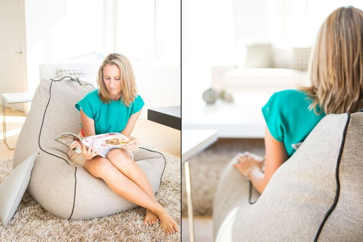 This ain't your Mama's bean bag! Enter to win a modern indoor bean bag chair from Lujo!