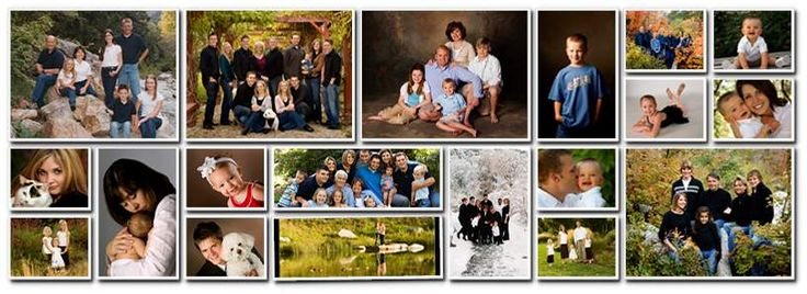 family photo collage - Google Search