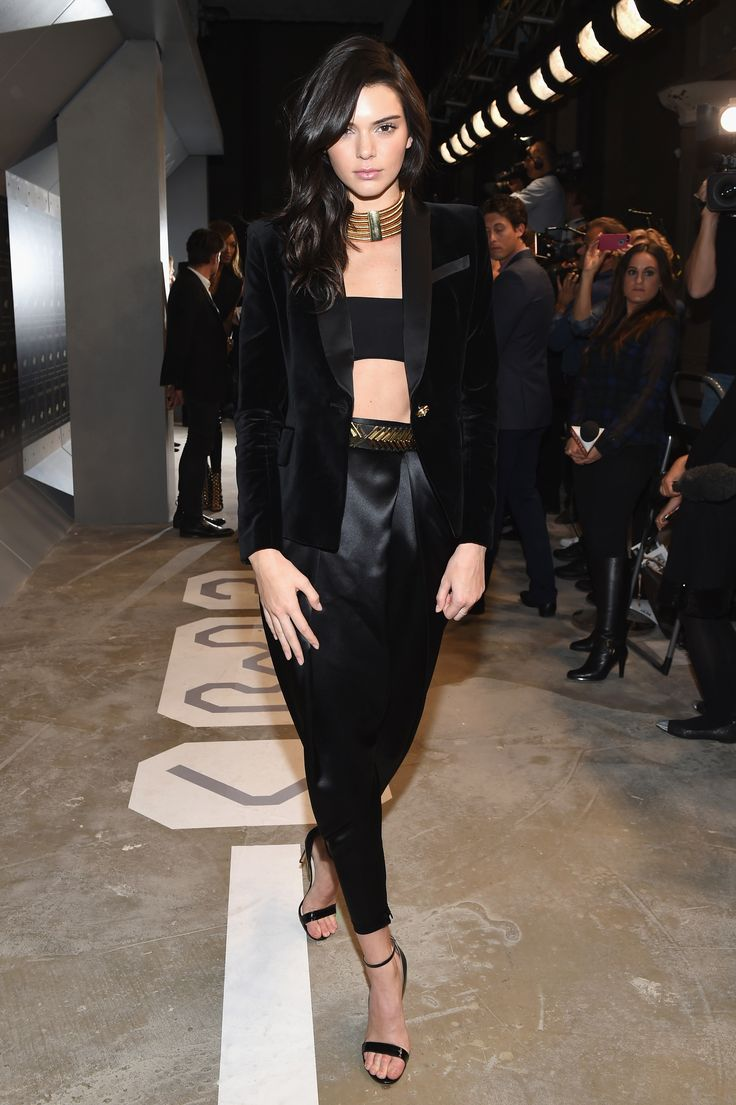 Kendall, Kylie, and Gigi Wore Very Short Dresses and Very Tall Heels to Celebrate Balmain x H&M Last Night | Teen Vogue