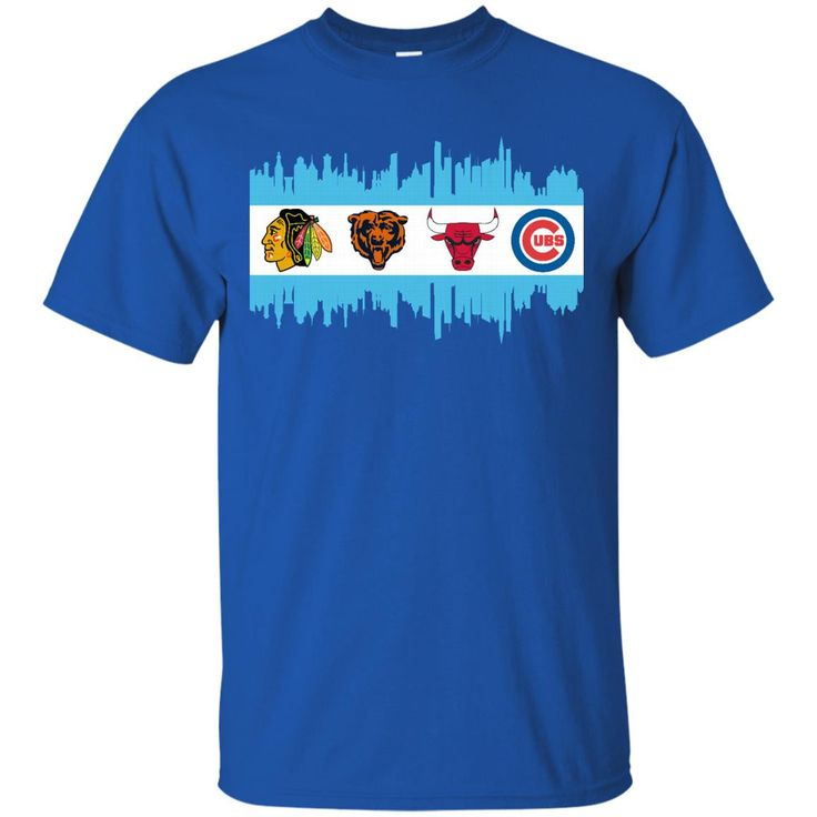 Chicago Blackhawks Chicago Bears Chicago Bulls Chicago Cubs T shirts Hoodies Sweatshirts