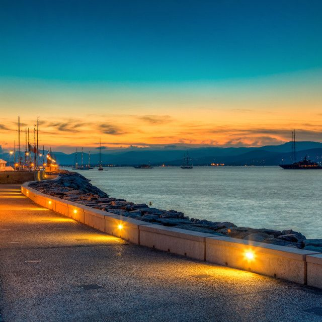 """Sunset in St Tropez"" by Alexander Novikov - $13.19"