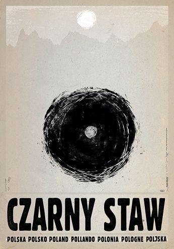 Czarny Staw, Polish Promotion Poster