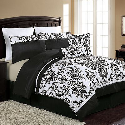 Victoria Classics Daniella 8-pc. Comforter Set- anyone is WELCOME to get this for me for a wedding gift...uh em.. LISA- you shop at Kohls right?! :)