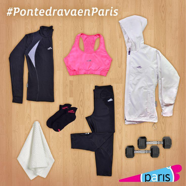 Tenida Drava, encuentrala en tiendas Paris - Julio 2014 #pontedrava   Más productos en www.drava.cl