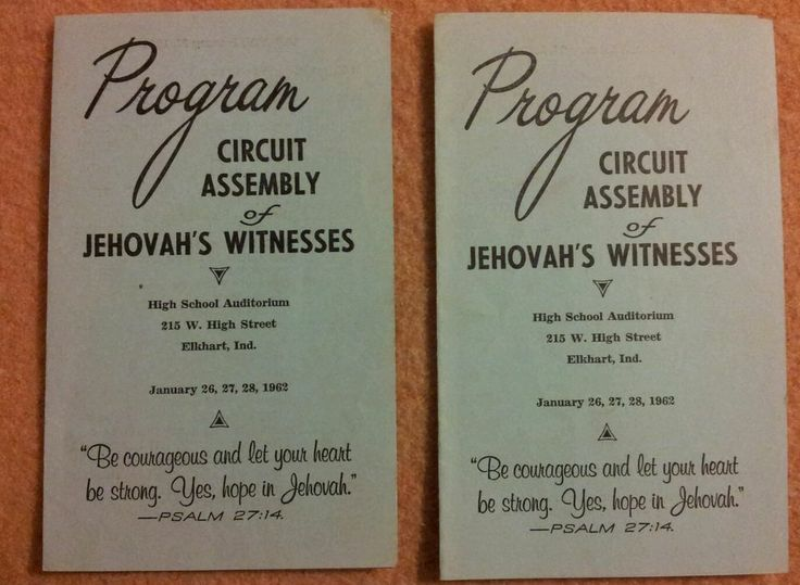 upcoming jehovahs witnesses circuit