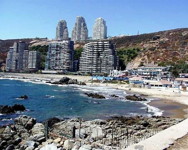 Reñaca, V region, Viña del Mar, en el centro del pais.