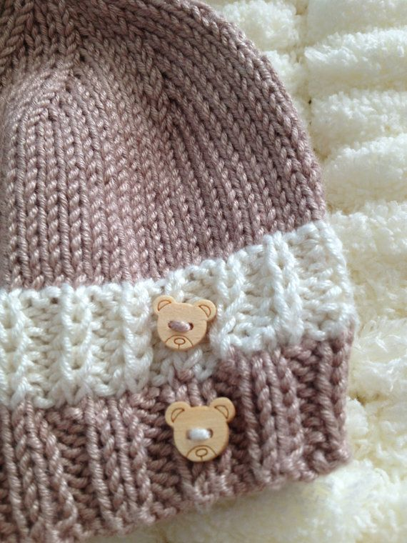 Coffee and Cream Babies Hat Beanie Made to by Snugglescuddles