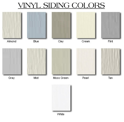 Vinyl Siding By Exterior Portfolio Color Chart Ask Home Design