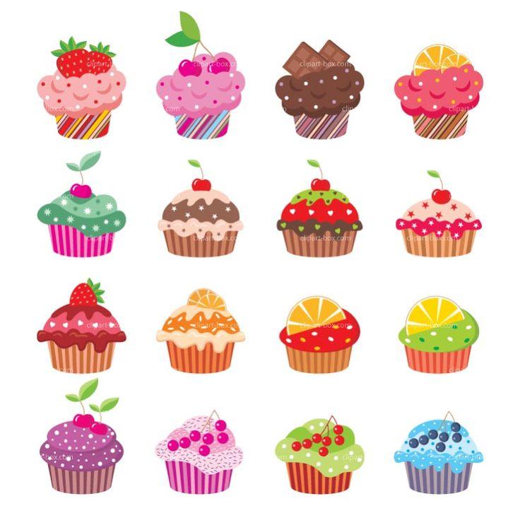 Cupcake Art Design : Cupcake art Cupcakes Clipart Tulipworks Pictures Hawaii ...