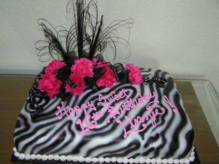 Best 25 Zebra birthday cakes ideas on Pinterest Pink zebra
