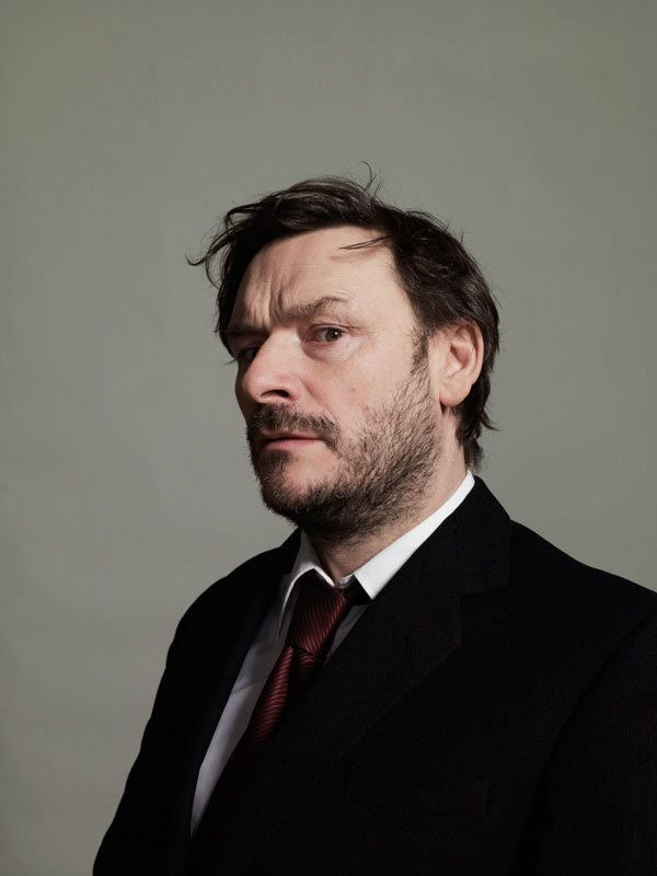 Julian Barratt comedian, musician, music producer and actor. Famous half of the The Mighty Boosh comedy duo. Born in Leeds.