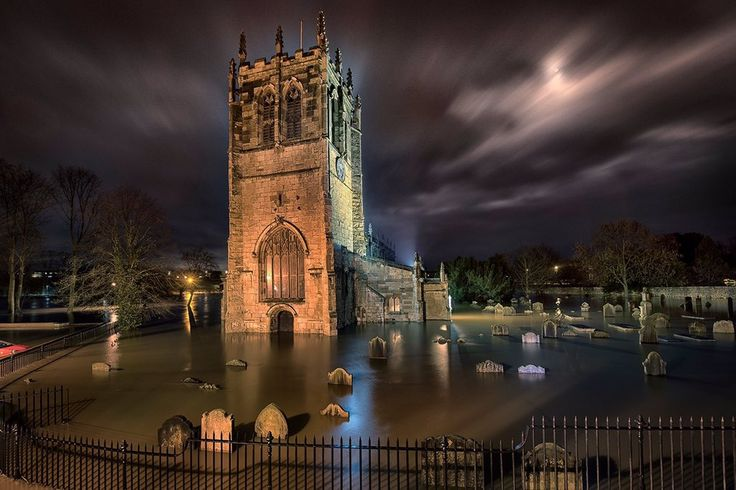 Tadcaster December 26, 2015 taken by Look North viewer Giles Rocholl