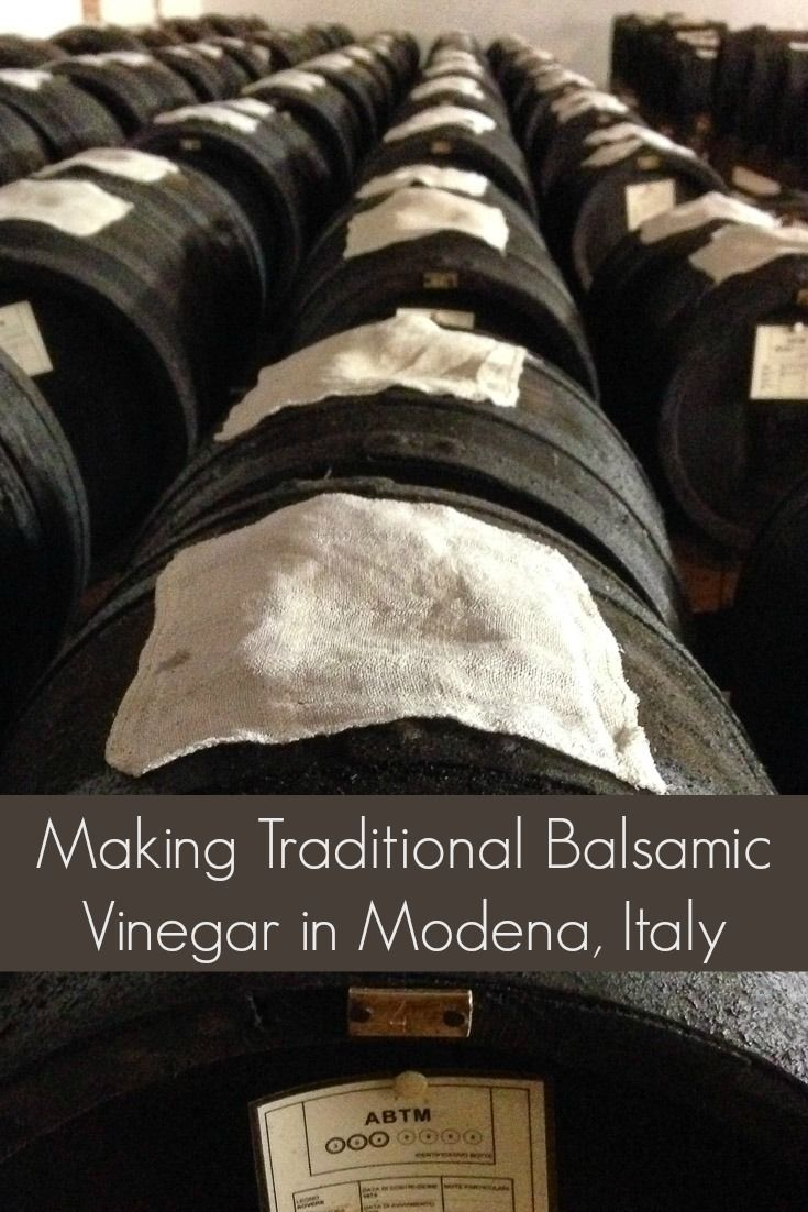 Things to do in Italy: Learn how they make balsamic vinegar, an ancient culinary tradition in Modena, Italy.