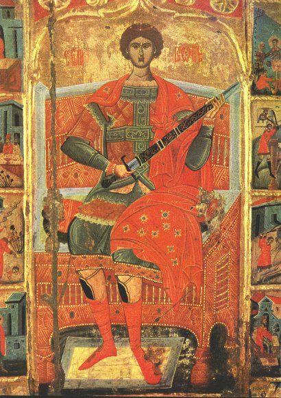 Ikonen Heiliger Georg