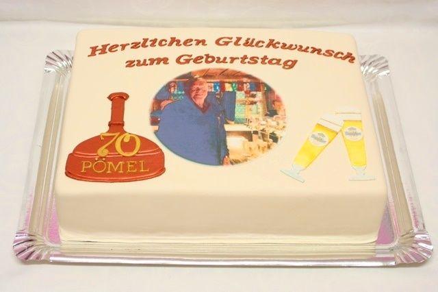 Bitburger- Geburtstagstorte