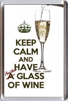 Keep Calm and have ANOTHER Glass of Wine!