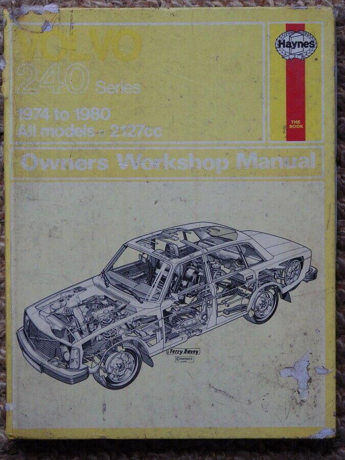 Volvo 240 Series 1974 80 Haynes Car Manual Manual Car Volvo 240 Volvo