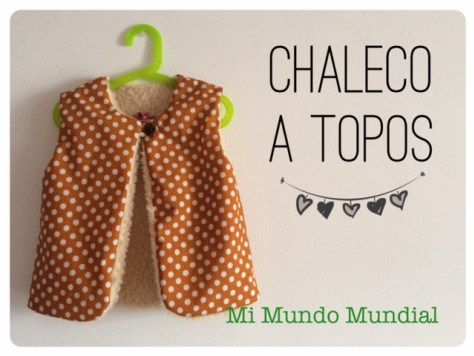 #chaleco de niña #handmade