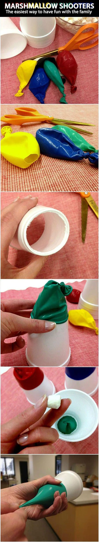 Marshmallow Shooters   DIY & Crafts Tutorials