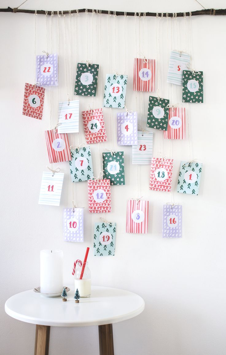 1000 images about diy christmas on pinterest holiday for Christmas tree advent calendar diy