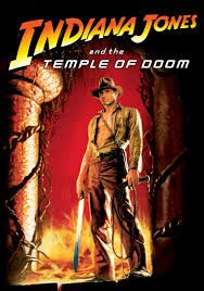 Image result for temple of doom movie poster
