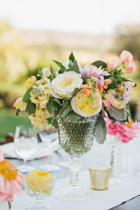 spring wedding arrangement | Gorgeous!