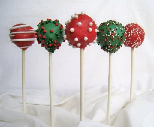 Christmas Cake Pops Check out www.sealedbysanta.com :)