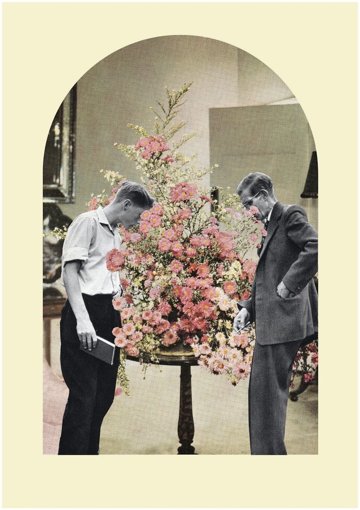 gentleman's flower arranging club