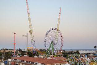 Parko Paliatso fun fair luna park Ayia Napa