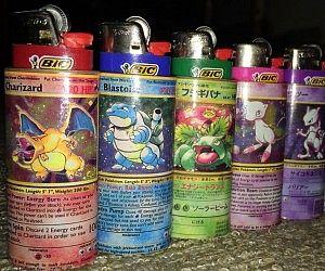Pokemon Lighter Sleeves