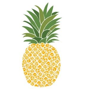 Pineapple Clipart Image - Pineapple