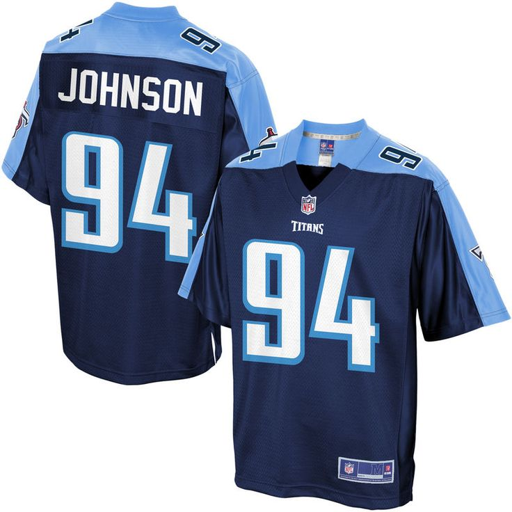 Austin Johnson Tennessee Titans NFL Pro Line Youth Player Jersey - Navy