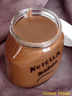 nutella maison (sans huile de palme évidemment)