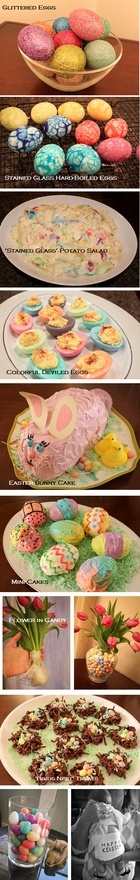 Easter holiday, recipes, decor.  Tons of ideas and directions.  Awesome site! katstiles
