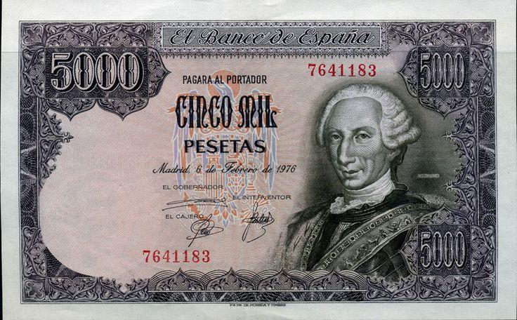 España 1976 5000 pesetas