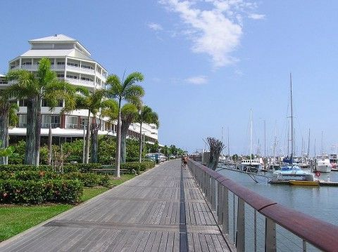 Visit Cairns - Have lunch or dinner at the Marina - Destinations Point