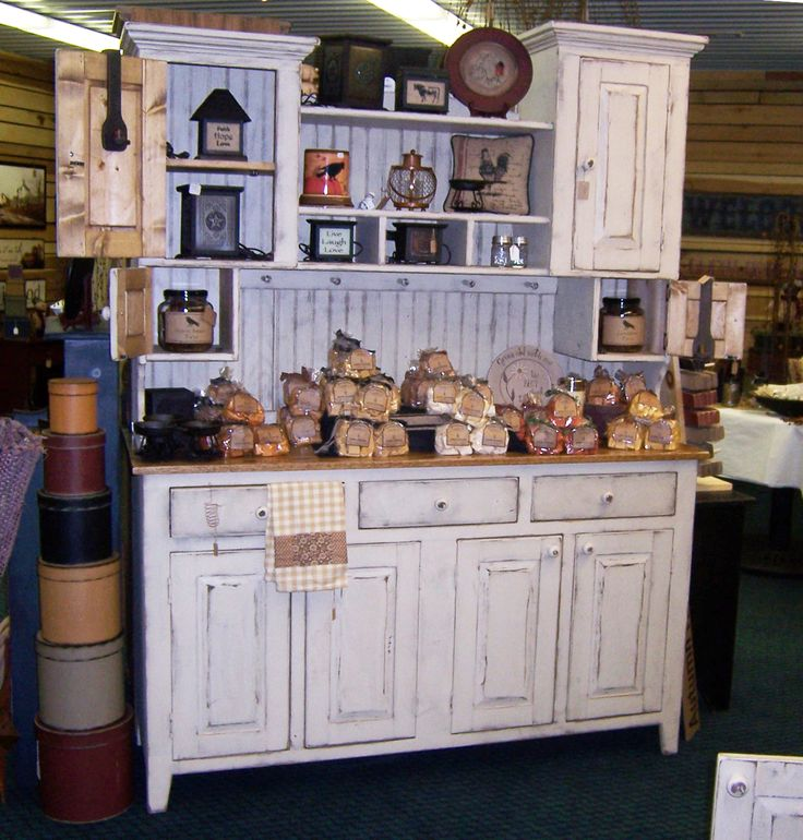 Double cabinet with oak top