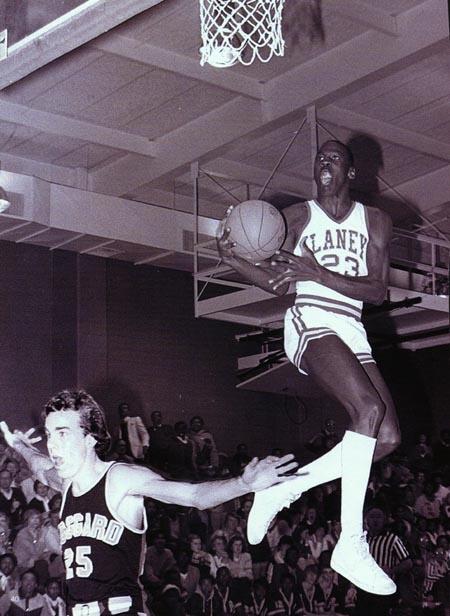 Michael Jordan in high school.