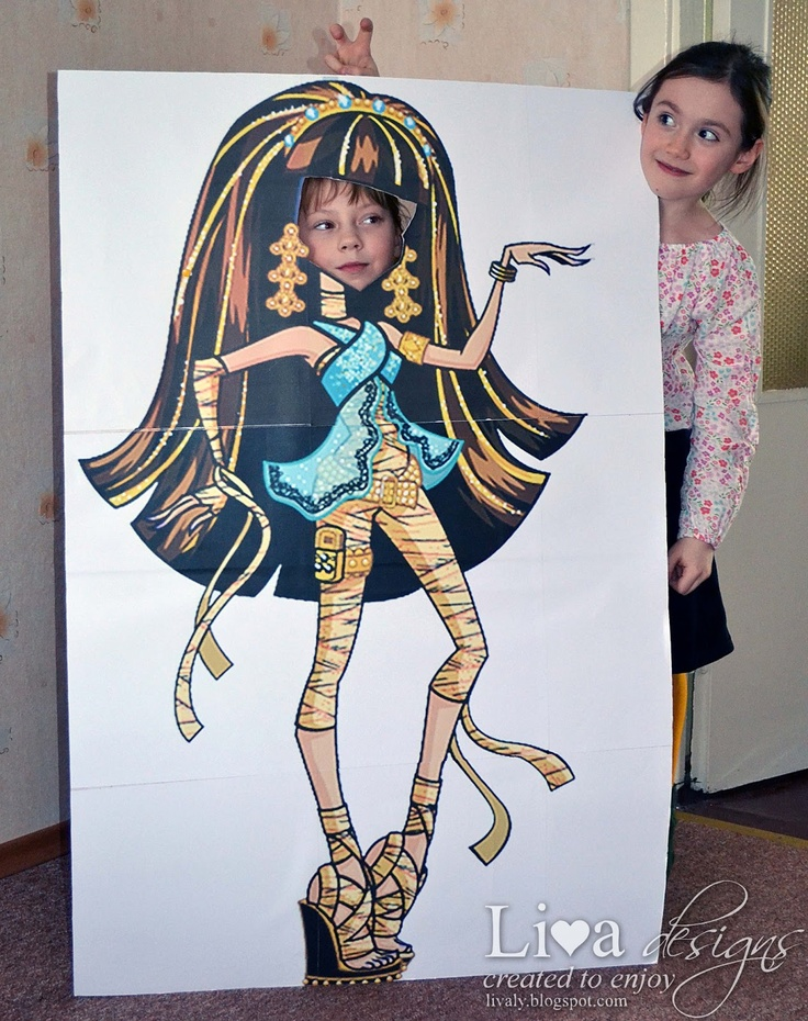 DIY: Monster High Party - Photo Props: Photos Booths, Fabulous Parties, Liva Crafts, High Photos, Decor Parties, Discover Crafts, Monsters High Parties, Parties Decor, Monster High Party