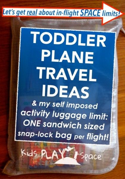 Toddler plane travel ideas-Kids Play Space
