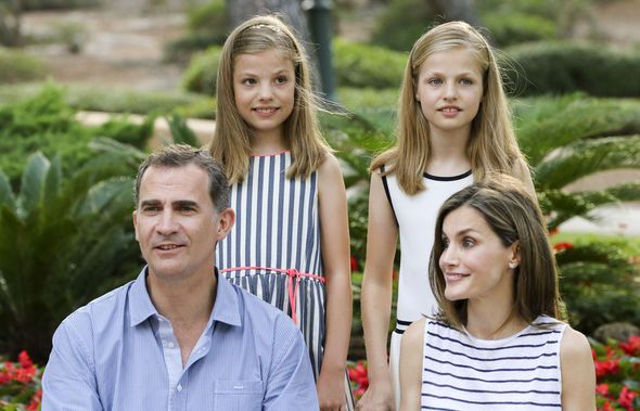 King Felipe, Queen Letizia: Spanish royal family tree in pictures   Royal   News   Express.co.uk